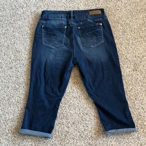 Seven7 Skinny Rolled Cuff  Ankle Jeans EUC